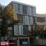 طراحی نمای ساختمان مسکونی   نمای ترکیبی