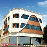طرح نمای کامپوزیت | طراحی نمای ساختمان