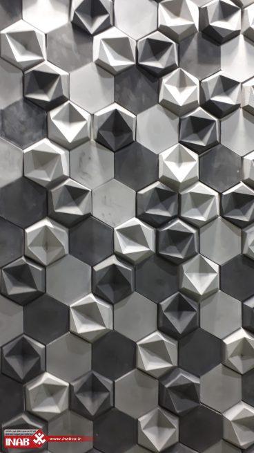 پنل های سه بعدی بتن اکسپوز