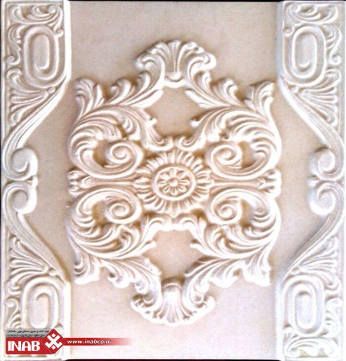 سنگ طرح دار   نقش برجسته