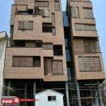 خلاقیت در طراحی نمای ساختمان آجری