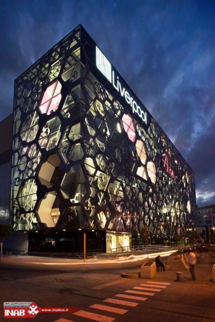 نمای ساختمان پارامتریک