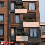 نمای ایرانی   نمای ساختمان مسکونی