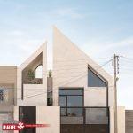 نمای ساختمان ویلایی | یک طبقه