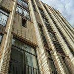 نمای آجری مدرن | ساختمان مسکونی