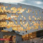 طراحی نمای ساختمان پارامتریک