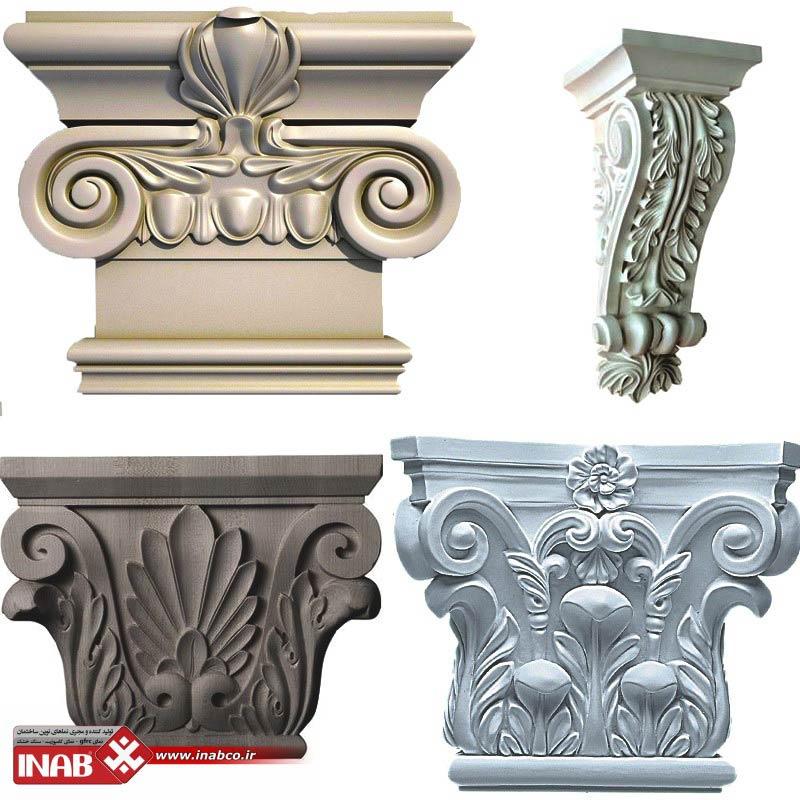 سر ستون سنگی | نمای رومی