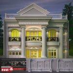 خلاقیت در طراحی نمای ساختمان ویلا