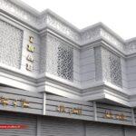 بتن جی اف آرسی   طراحی نمای ساختمان ارزان (1)