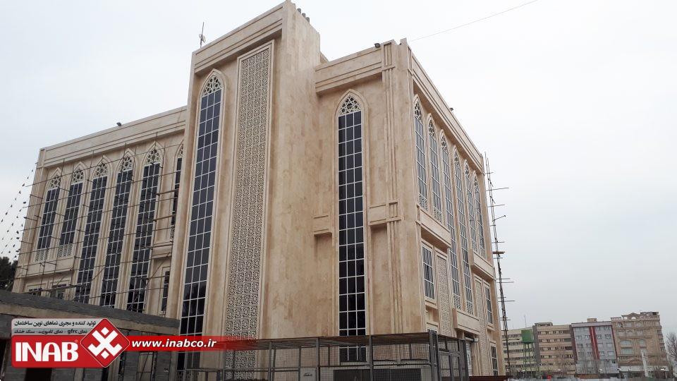 پنل مشبک بتنی | ساختمان شورای شهر قدس