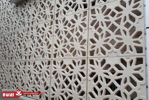 بازسازی نمای ساختمان | پنل های مشبک بتنی gfrc