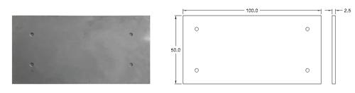 پنل بتن اکسپوز نما با ابعاد 50*100 | دتایل پنل بتنی نما