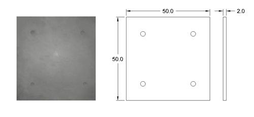 پنل بتن اکسپوز نما با ابعاد 50*50   دتایل پنل بتنی نما