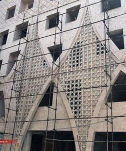 جی اف ار سی ایناب   نمای ترکیبی با سنگ