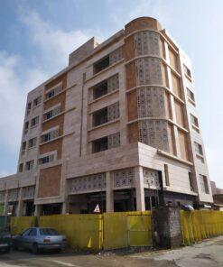 نمای جی اف ار سی gfrc | ساختمان امید اهواز