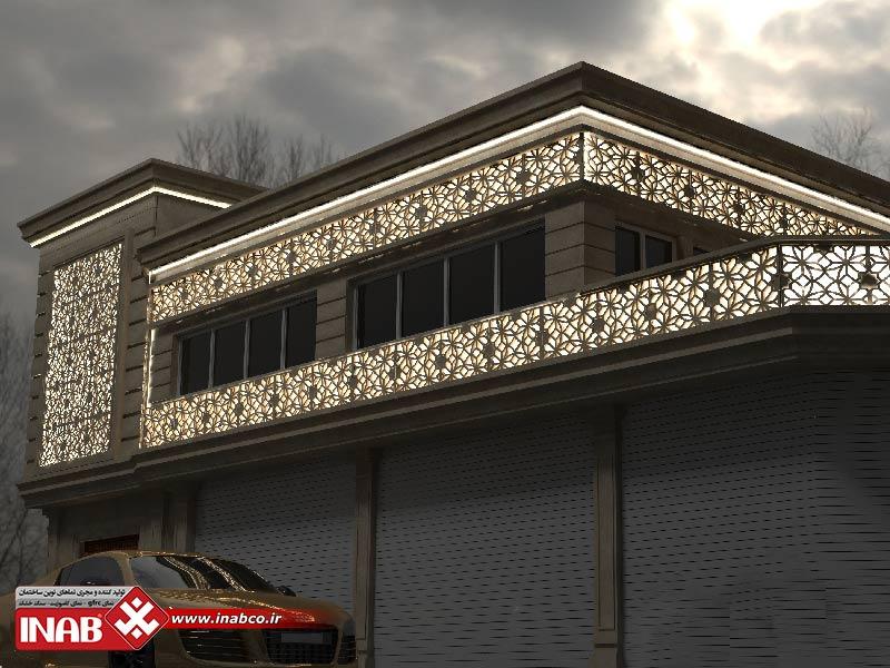روند طراحی نمای ساختمان
