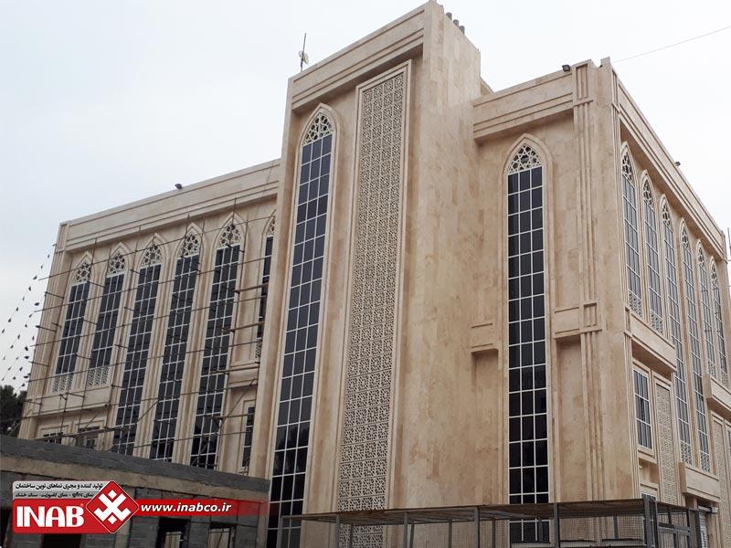 بتن جی اف آرسی | نمای ساختمان شهرکرد | بتن اکسپوز | جی اف ار سی GFRC