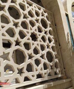 پنل جی ار سی به عنوان نرده در هتل امام رضا مشهد