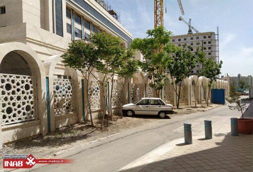 پنل جی اف ار سی gfrc دو متر در دو متر - هتل امام رضا مشهد