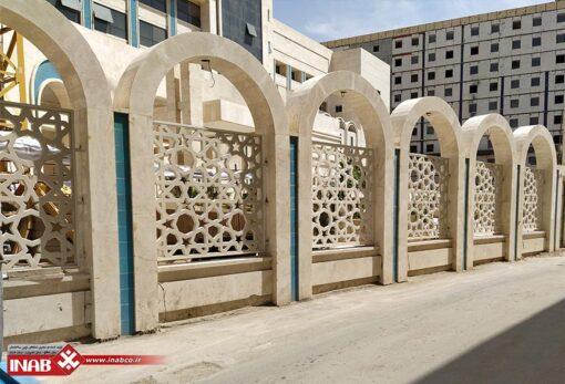 پنل جی ار سی grc دو متر در دو متر - هتل امام رضا مشهد