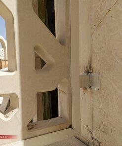 دیتیل نصب پنل جی ار سی هتل امام رضا مشهد به روش جوش