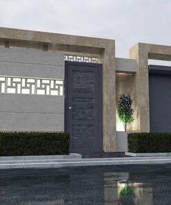 طراحی نمای ساختمان | طراحی سردر
