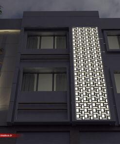 طراحی نمای ساختمان 2 طبقه | دو طبقه