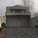 طراحی نمای ساختمان ویلایی | بتن اکسپوز