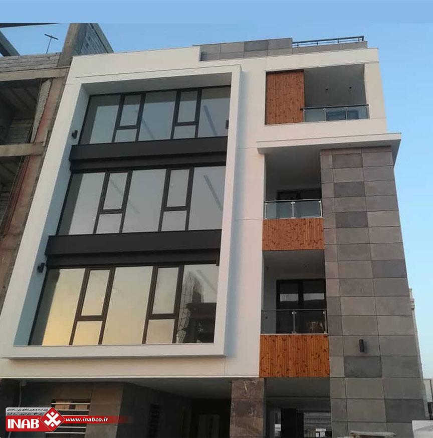 بتن اکسپوز | نمای ساختمان در کیش