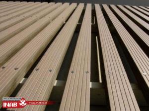 نمای چوب پلاست | کاربرد ها و مزایای چوب پلاست