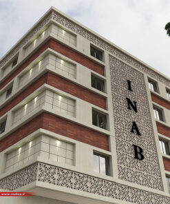 نمای ساختمان مسکونی | جی اف ار سی gfrc