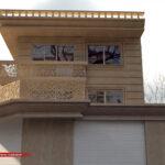 طراحی نمای ویلایی 1 طبقه