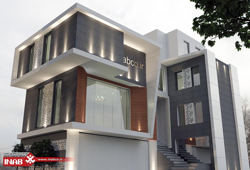 بتن اکسپوز متریالی خاص در طراحی نمای ساختمان